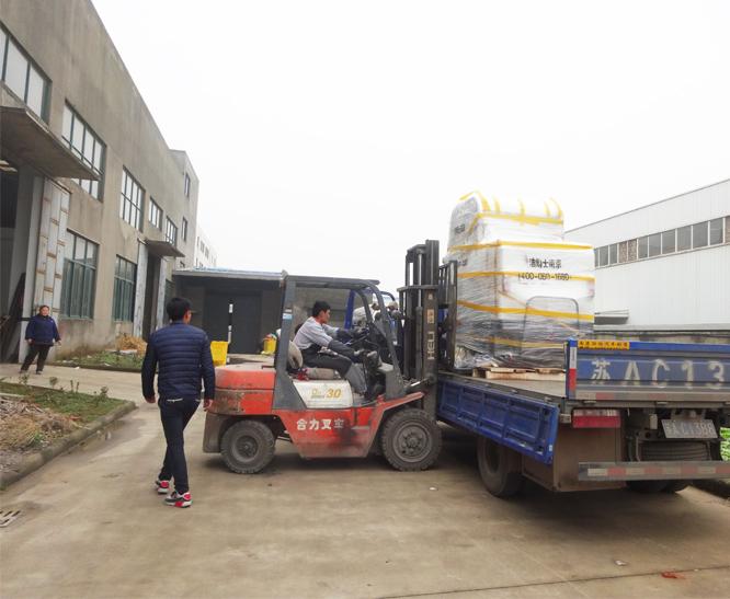 电动清扫车案例-青海格尔木发电厂