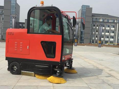扫地车合作客户-滁州城市职业学院