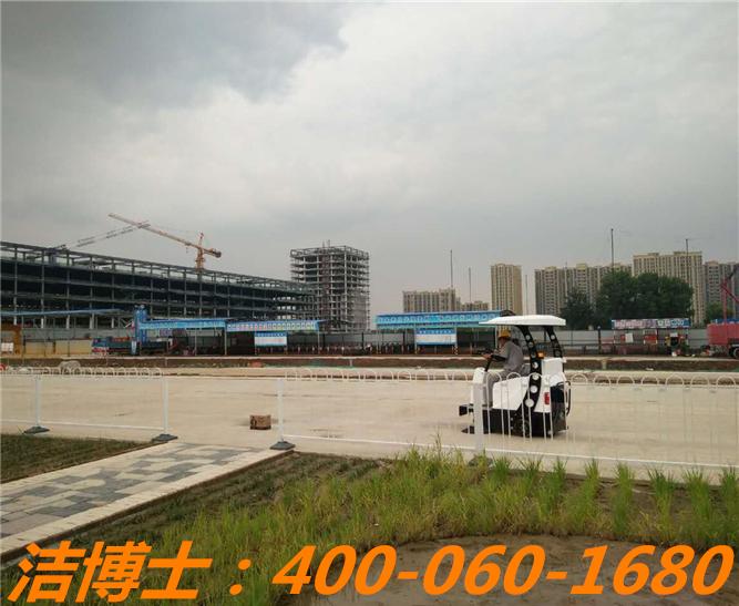 洁博士驾驶扫地车客户案例—北京城建地铁7号线