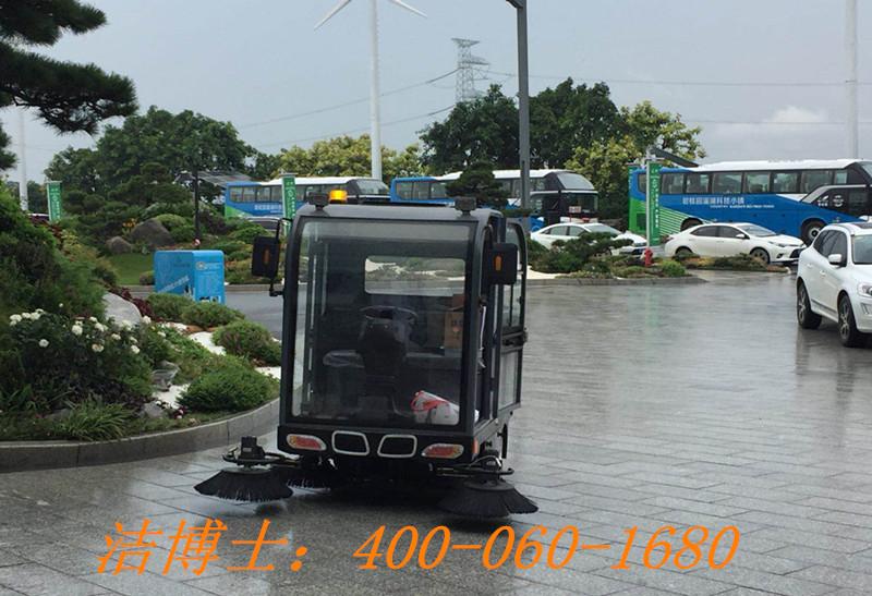 洁博士电动扫地车客户案例——碧桂园惠州潼湖科技小镇