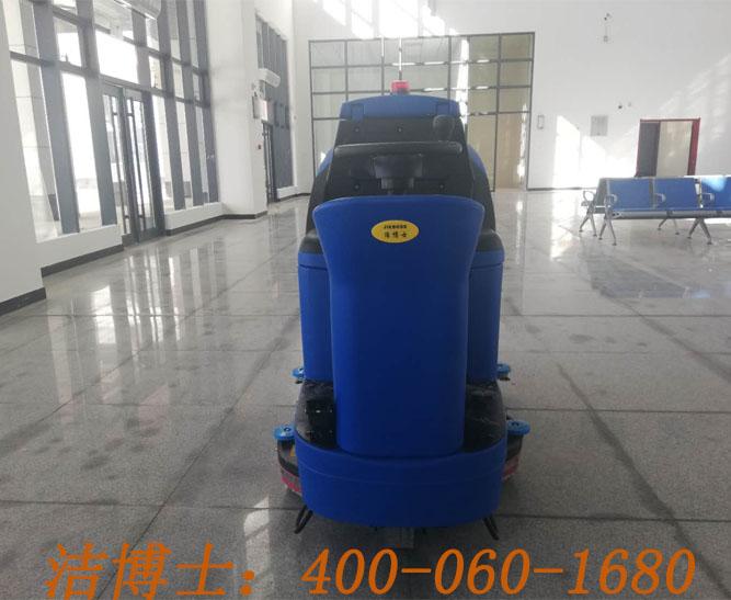 洁博士驾驶洗地机用户案例——张掖市甘路交通投资有限公司