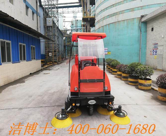 洁博士电动清扫车客户案例——华润水泥(汕头)有限公司