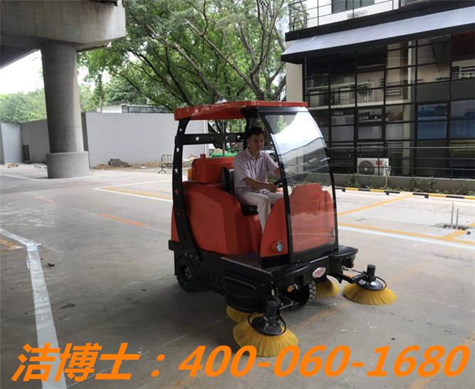 洁博士扫地车客户案例——广州市安托物业管理有限公司