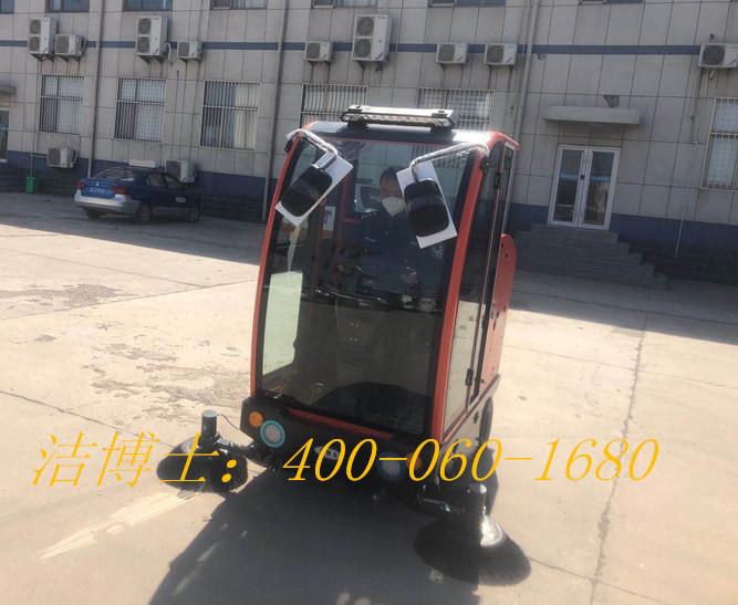 洁博士驾驶扫地车客户案例—滨州市公安局