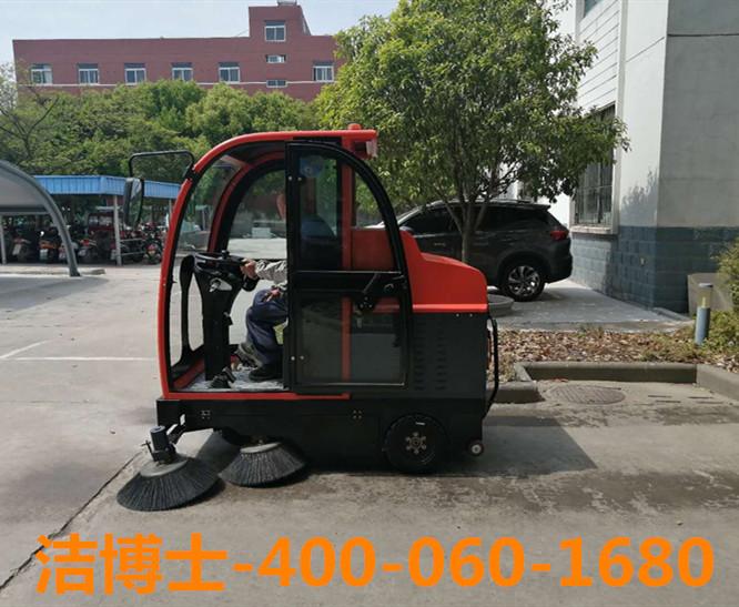 驾驶扫地车客户案例-南京敏之杰机电设备有限公司