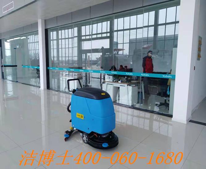 洁博士手推洗地机用户安排——滁州源欣农机有限公司