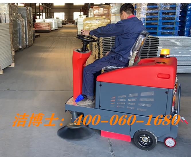 洁博士驾驶扫地车客户案例——浙江海悦自动化机械股份有限公司