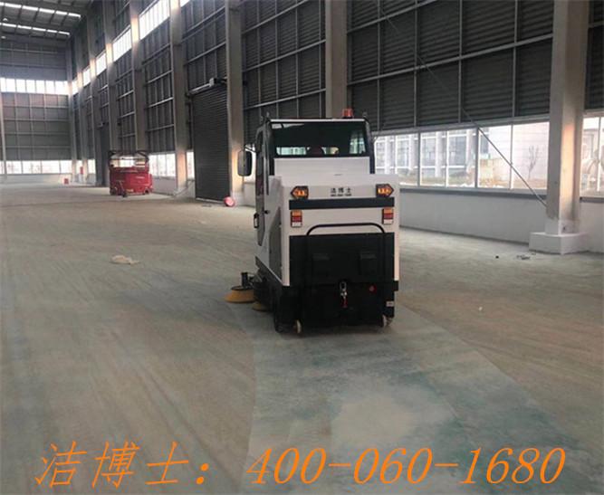 洁博士电动清扫车用户案例——扬州中之炬实业有限公司