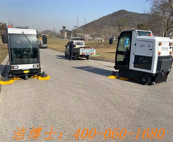 洁博士驾驶扫地机用户案例——南京港城保洁服务有限公司