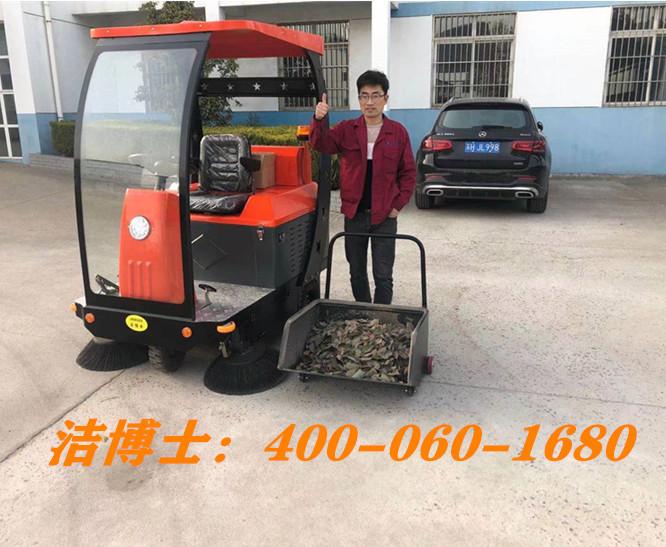 洁博士驾驶扫地车客户案例-淮安市建工尼龙制品有限公司
