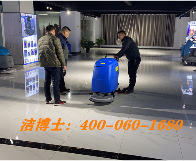 洁博士手推洗地机客户案例-上海耀皮康桥汽车玻璃有限公司