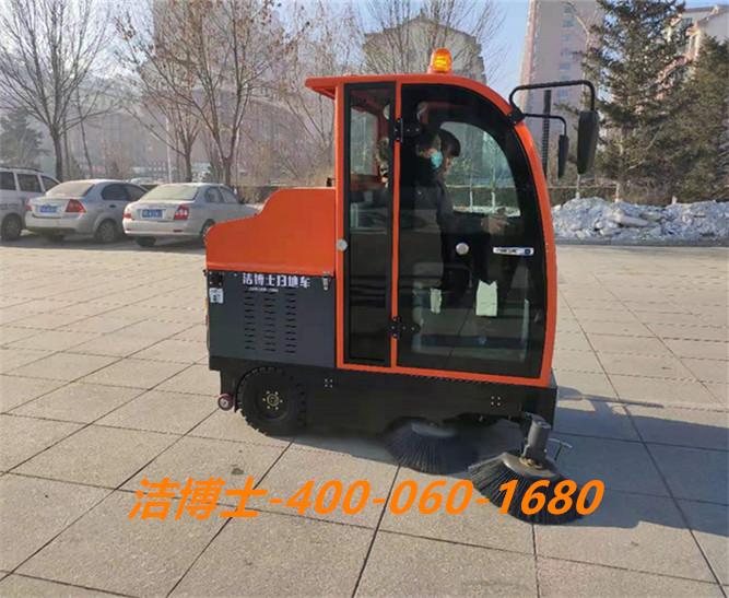 洁博士电动扫地车客户案例——陕西略阳钢铁有限责任公司