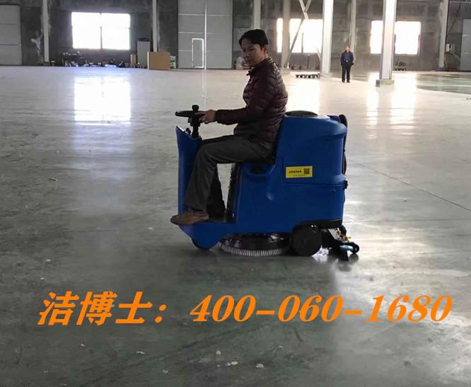 洁博士驾驶扫地机客户案例-南宁市殡葬服务管理处