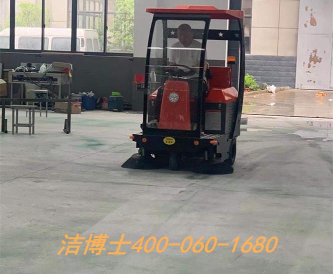 洁博士驾驶扫地机客户案例-南京开拓者广告有限公司