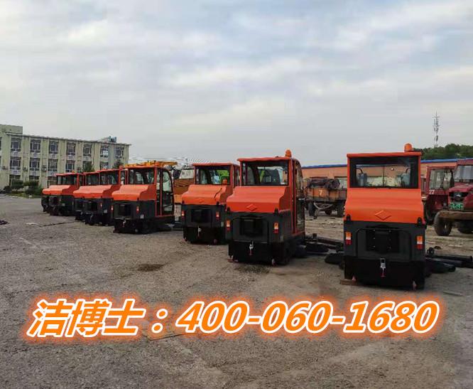 扫地车客户案例-镇赉县环境卫生管理中心