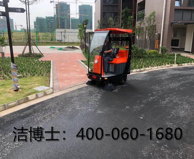 洁博士驾驶扫地机客户案例—江苏开拓者环保材料有限公司