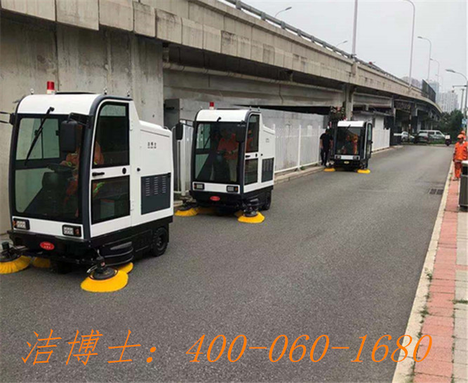 洁博士电动清扫车用户案例——北京竣耀环境治理有限公司