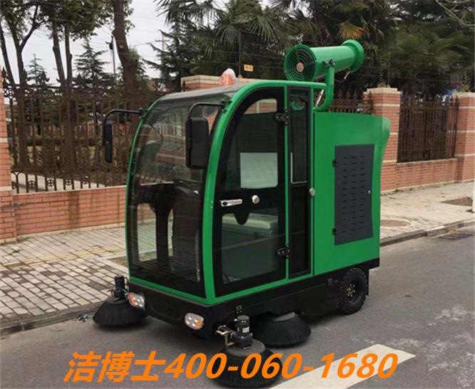 洁博士电动扫地车客户案例----北京城建亚泰建设集团有限公司