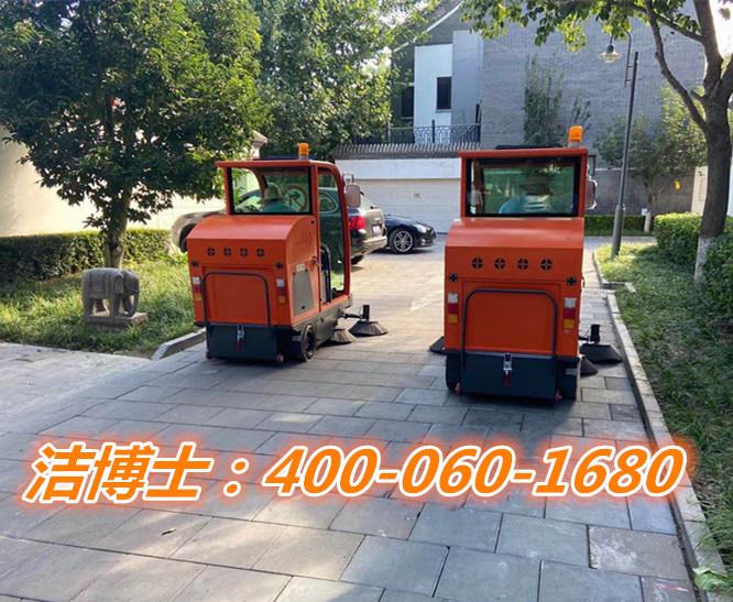 洁博士驾驶扫地车客户案例-呼伦贝市兴安农业科技有限公司