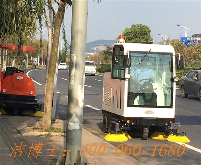 洁博士电动清扫车用户案例——南京市江宁区人民政府谷里街道办事处