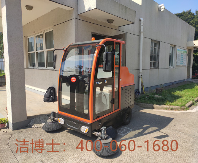 洁博士驾驶扫地机客户案例-舒兰市东方鹏越房地产开发有限公司