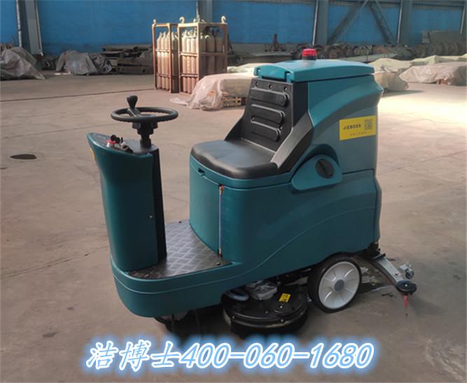 洁博士驾驶洗地机客户案例——唐山中首铸造产业有限公司
